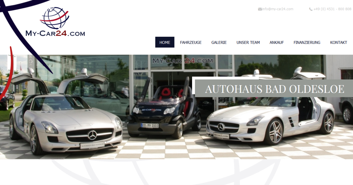 home autohaus bad oldesloe my car24