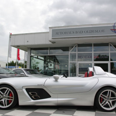 Mercedes Benz SLR Mc Laren Stirling Moss