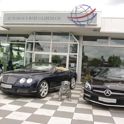 Bentley GTC & Mercedes Benz SL 63 AMG