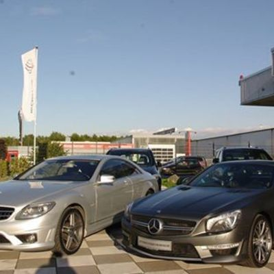 Mercedes Benz CL65 AMG V12 Bi-Turbo & SL 63 AMG