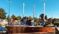 "Chris Craft Holz Ski Boat 17"" Baujahr 1959"